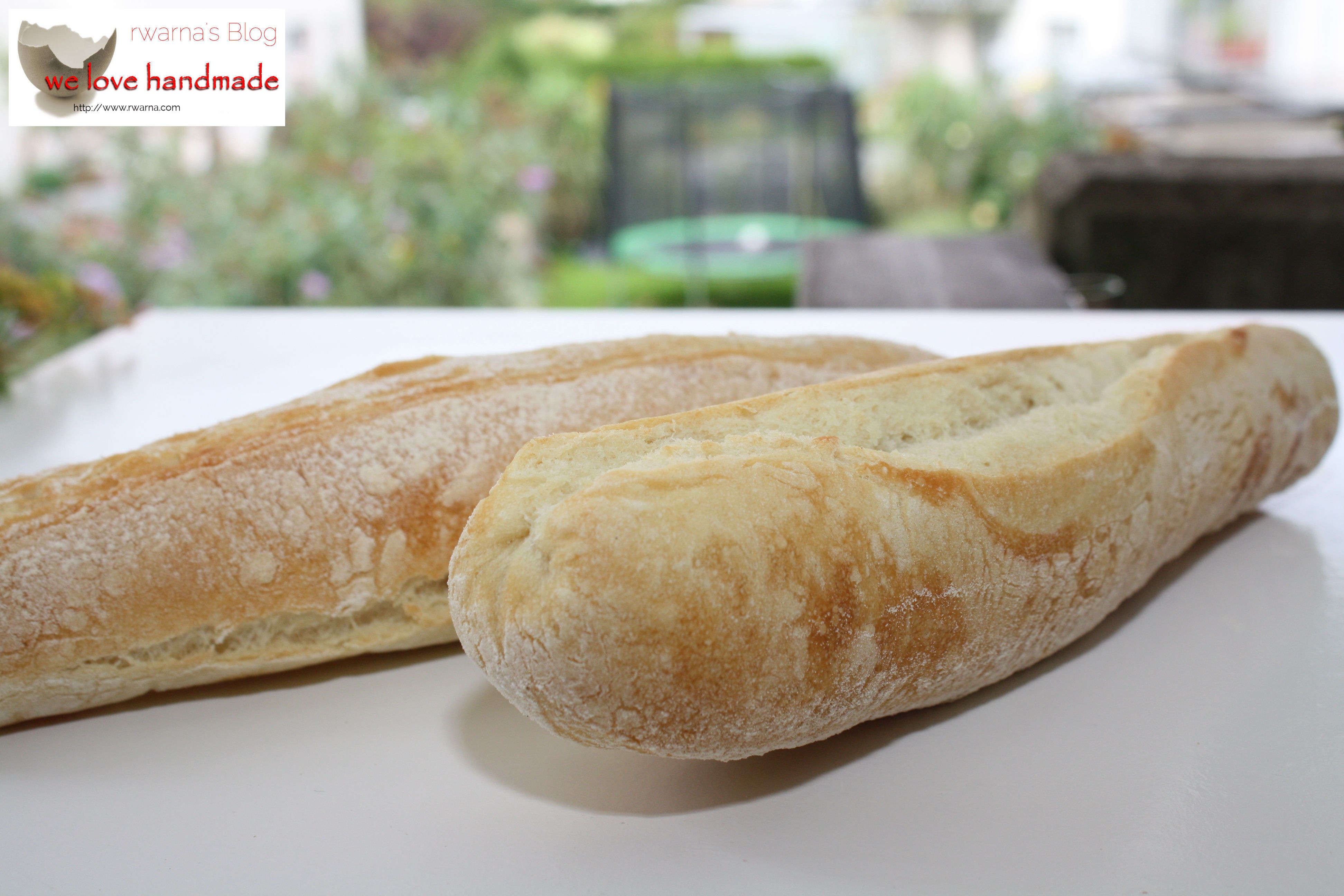 Baguette selbstgemacht